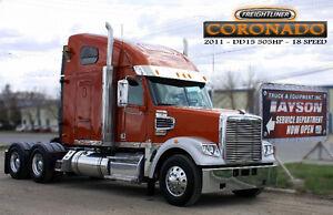 2011 FREIGHTLINER CORONADO ***DD15 505HP - 18 SPEED***