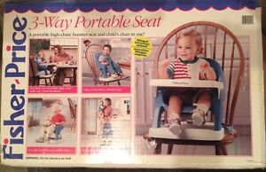Fisher Price - Portable High Chair or Seat.