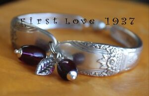 VINTAGE Upcycled SILVER SPOON JEWELLERY