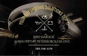 JERS' GARAGE 8026 Hwy.#7 South of Fowlers Corners 705-740-3179 Peterborough Peterborough Area image 10