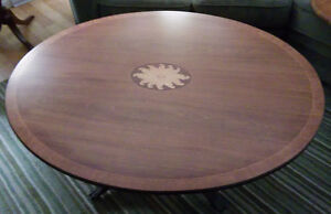 Pedestal Coffee/Cocktail table