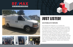 Ace Mobile RV Repair BUSINESS FOR SALE