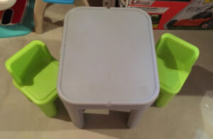 Toddler My Size Table & Chairs Set- Step2