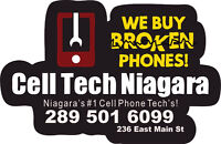 Cash Paid For ALL Used And Broken Phones CellTech Welland
