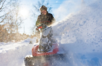 Looking for a licenced driver for snow removal help.