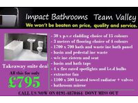 Full bathroom suite don't miss out