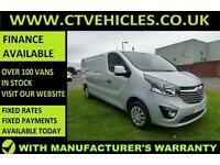 2016 16 Vauxhall Vivaro Van 1.6CDTi 120PS BiTurbo Sportive 2900 LWB L2H1 L2