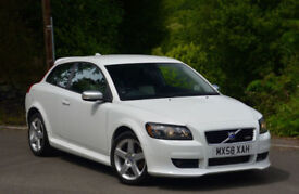 Volvo C30 1.6D 2009MY R-Design Sport White.