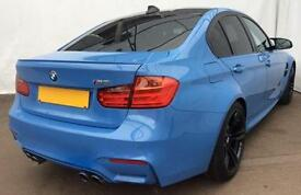 Blue BMW M3 425bhp 4Door FROM £180 PER WEEK!