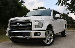 2016 Ford F150 Limited rims and tires
