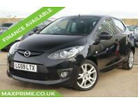 MAZDA 2 1.5 SPORT+ PHANTOM BLACK+ 5 DOOR+ FULL HISTORY+ CHEAP INSURANCE TAX