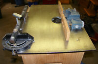 Lee Valley router table with Porter Cable 7539 electronic Router