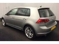 2016 SILVER VW GOLF 1.6 TDI 110 GT EDITION DIESEL 5DR HATCH CAR FINANCE FR £50PW
