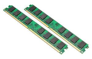 Mémoire 4gb (2x2gb) 240pin DDR2 800mhz