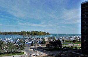 6th floor Westchester 2 Bed with view of Lake St.Clair