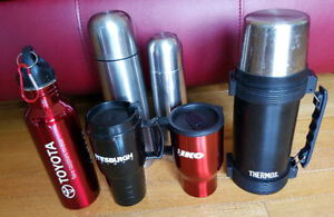 Travel Mugs, Water Bottle & Thermos
