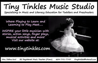 Preschool Music and Literacy Program!