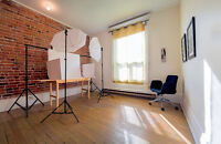 Studio Space to rent (per hour/day) for a shoot! Mile End