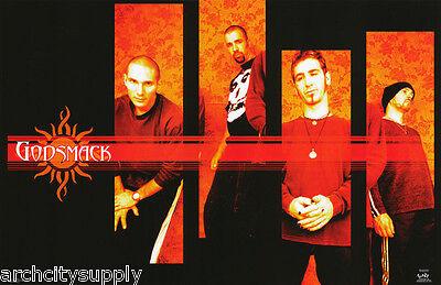 POSTER : MUSIC : GODSMACK - GROUP POSE -  FREE SHIPPING !    #6205     LP38 X