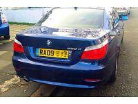 ***L@@K** 09 REG BMW 520D 5 SERIES BLUE AUTO DIESEL 525d 530d mercedes audi