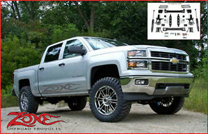 Zone Offroad Suspension LIFT KIT 4.5'' Chevy/GMC 1500 14-15