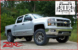 Zone Offroad Susp LIFT KIT 4.5'' Chevy/GMC 1500 14-17 (C35N)
