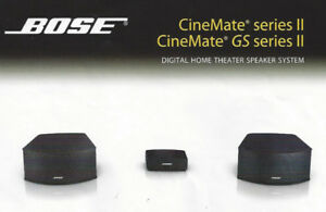 Bose Cine II Home Theater System