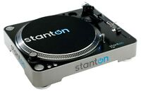 Stanton T62 Straight Arm Direct-Drive DJ Turntable