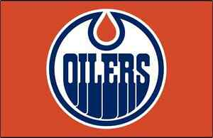 EDMONTON OILERS INDIVIDUAL GAMES, 4 Seats together!