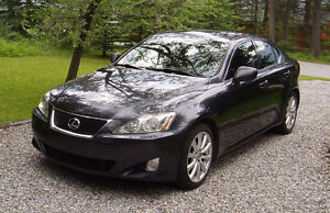 2008 Lexus IS 250 6 Speed Manual Transmission