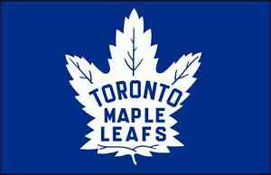 Maple Leafs vs Tampa Lightning October 25th 7:30 PM