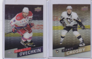 15-16 TIM HORTONS FRANCHISE FORCES SIDNEY CROSBY + ALEX OVECHKIN London Ontario image 1