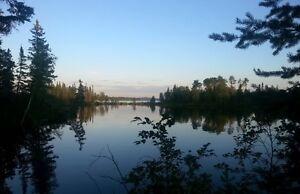 Terrain, Villégiature, Lac-St-Jean, Rivière Péribonka