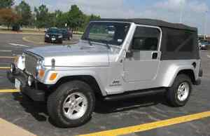 WANTED  Jeep TJ