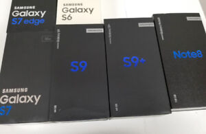 Unlocked Samsung S6 32GB $220, S7 Edge $380, S9 $750 w/ WARRANTY