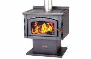 """NORSEMAN LEGEND WOOD HEATER..   FLUE ...FAN   """"USED"""" Caboolture Caboolture Area Preview"""