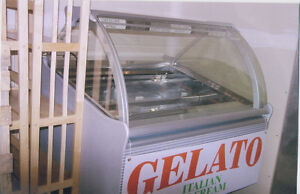 Gelato Display case