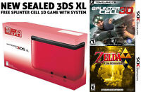 3DS XL System (+ FREE GAME) & Games For Sale or Trade