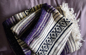 QUALITY HAND-WOVEN ALL-NATURAL THROWS from PERU - New