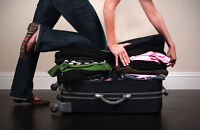 Suitcase Packer! Let me work my magic, I'll fit your gifts in!