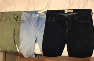 **Women's brand name jeans clearout**
