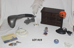 Lot #19 - Misc household Goodies