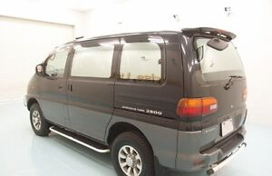 8 Seater Mitsubishi Delica Sunroof, Diesel engine -(Vancouver,BC