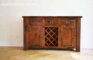 Buffets Made from Southwestern Ontario Barnwood