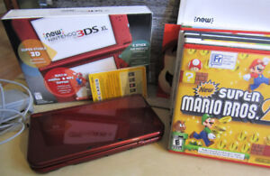 New Nintendo 3DS XL, latest model with 6 games!
