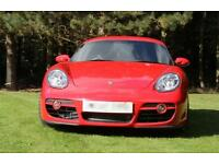 PORSCHE CAYMAN 2.7 987 AUTO TIPTRONIC S RACING RED 2008