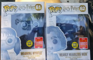 Moaning Myrtle and Nearly Headless Nick Funko Pop Vinyl