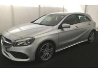 2016 SILVER MERCEDES A200 2.1 AMG LINE DIESEL AUTO CAR FINANCE FROM 58 P/WK