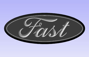 """Ford Truck Badge """"Free Shipping"""""""