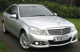 Mercedes-Benz C220 CDI 2.1 ( 170bhp ) 2011 Elegance (edition 125) : 61k mi